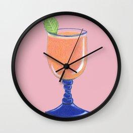 Tropical Bliss (Pink) Wall Clock
