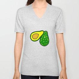 Avocado Fruit Unisex V-Neck