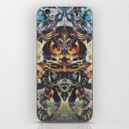 Rorschach Flowers 2 iPhone Skin
