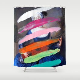 Composition 505 Shower Curtain
