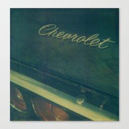 Chevrolet Polaroid Canvas Print