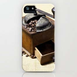 coffee grinder 6 iPhone Case