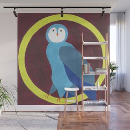 O is for Owl Wall Mural