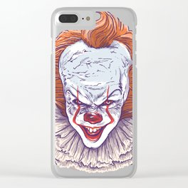 IT's Pennywise The Dancing Clown! Clear iPhone Case