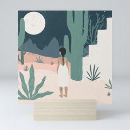 sonoran siren Mini Art Print