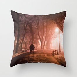 Way to infinity Throw Pillow