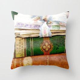 Louisa May Alcott Throw Pillow