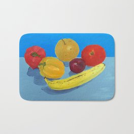 Community College Painting 101 Still Life Bath Mat