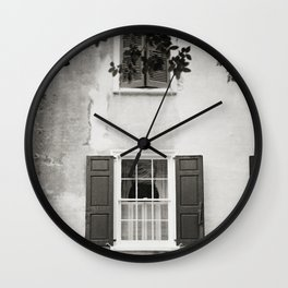 Charleston Window Wall Clock