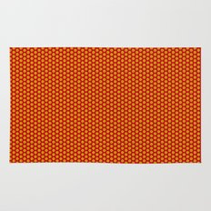 red and yellow Rug