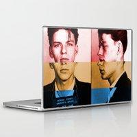 frank sinatra Laptop & iPad Skins featuring Classic Frank Sinatra  by Brandon Minieri