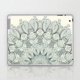Flowers in the Sea - Mandala Laptop & iPad Skin