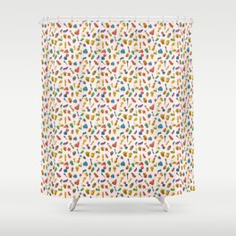 D*ck Print Shower Curtain