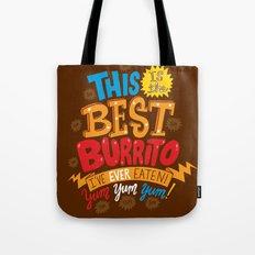 Best Burrito Tote Bag