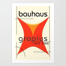 Bauhaus Poster II Art Print