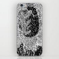 typo iPhone & iPod Skins featuring Warhol Typo by Novel Reveries