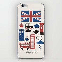 Great Britain - London iPhone Skin