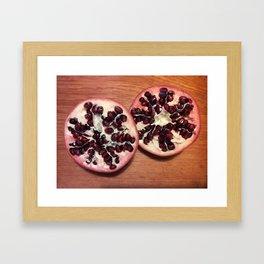 POWER POMEGRANATE Framed Art Print