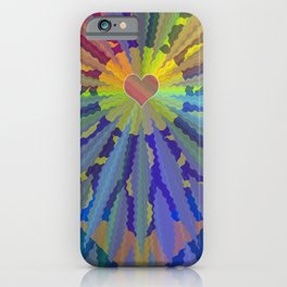 Sacred Heart of the Divine iPhone Case