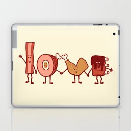 Meat Love U Laptop & iPad Skin