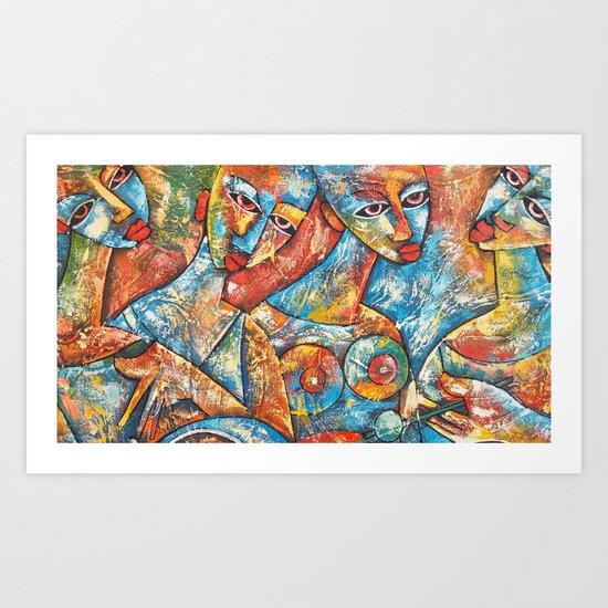 Art Women Art Print
