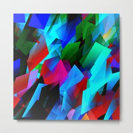 cubism in color Metal Print