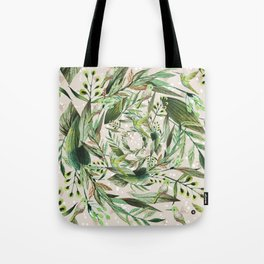 Nature in circles Tote Bag