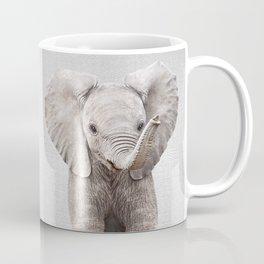 Baby Elephant - Colorful Coffee Mug