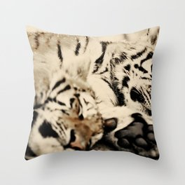 I'll keep you warm... Throw Pillow