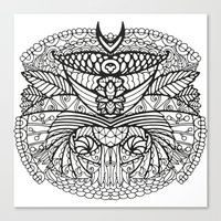 ornate Canvas Prints featuring Ornate by RifKhas