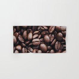 Coffee beans pattern Hand & Bath Towel