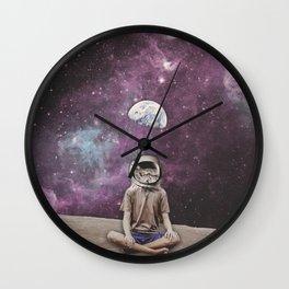 PSYCHONAUT UNIVERSE MEDITATION Wall Clock