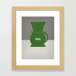 Tea/Coffee Framed Art Print