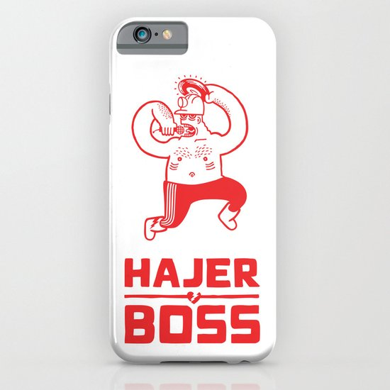 Hajer Boss iPhone & iPod Case