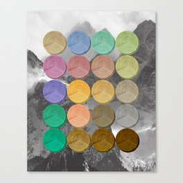 Crop Circles 3 Canvas Print