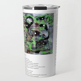 Miss Kelly Green / Art Stories Travel Mug