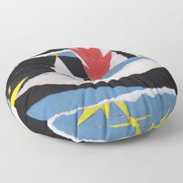 Matisse during the Cold War Floor Pillow