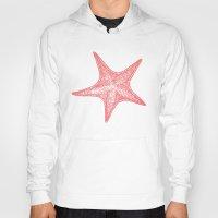 starfish Hoodies featuring Starfish by AleDan