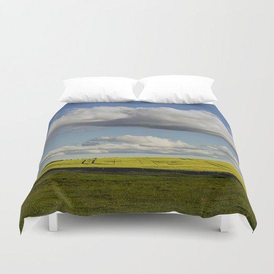 Spring-Landscape Duvet Cover