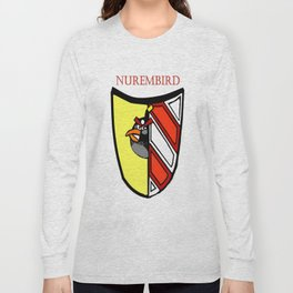 The Angry Nuernberg Nurembird Long Sleeve T-shirt