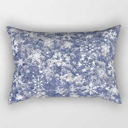 Snowflakes in the forest Rectangular Pillow