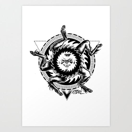 Buer Art Print