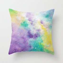 Obnoxious Galaxy Throw Pillow