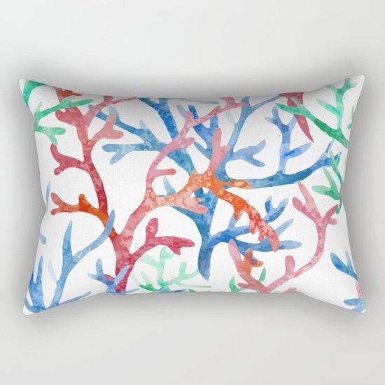 Sea Life Pattern 03 Rectangular Pillow