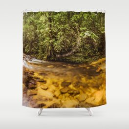 Forest Panorama Shower Curtain