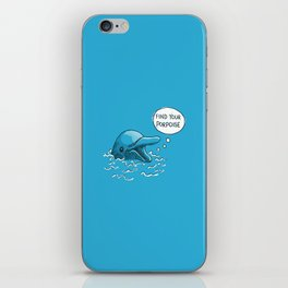 Find Your Porpoise iPhone Skin