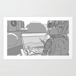 Approach Art Print