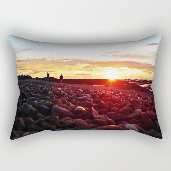 Pebble Beach Saturated Rectangular Pillow