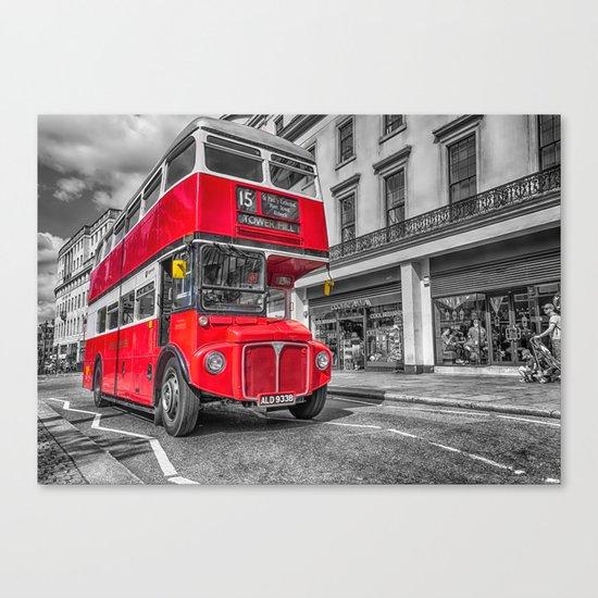 London Routemaster 15 Canvas Print