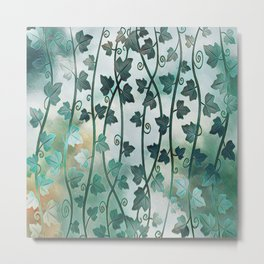 Vines of Ivy Metal Print